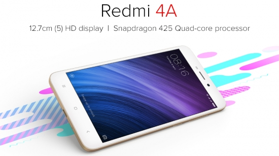 REDMI 4A 2/16GB Gold/Rose/Gray Distributor