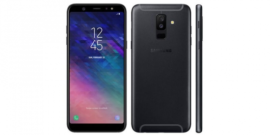 Samsung a6 plus new (Black,gold ,blue)