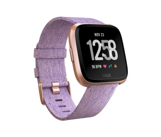 Fitbit Versa Special Edition Lavender Woven