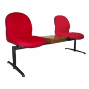 Visitor Chair JV-5002 Two Seats w/ Table - Khusus JABODETABEK