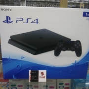 PS4 SLIM JET BLACK 1 TB CUH 2006B