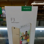 OPPO F3 4/64GB Black Limited Edition Garansi Resmi Oppo Indonesia