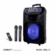 Speaker portable wireless Amplifier KREZT Was 112 LV 12 inch ORIGINAL.