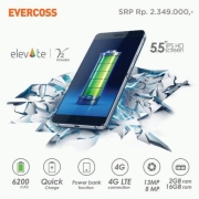 EVERCOSS ELEVATE Y2 POWER S55 6200mAh 2GB / 16GB