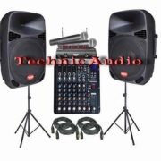 Sound System Audoor & Indoor Paket 15 Inchi