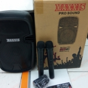 Speaker portable Wirelles meeting MAXXIS MXM 908  8inc