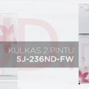 kulkas sharp 236md