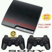 SONY ps3 slim 500GB full game free 2 stick wireless sony [ psn ]