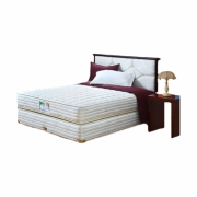 guhdo standard, base spring, headboard paris ukuran 160x200 (full set)