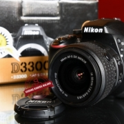 Nikon D3300 Kit 18-55mm VR II Kredit Ditoko Tanpa Dp