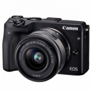 Canon M3 WITH EF-M15-45 MM Kamera Mirrorless - Black