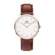 DW classic petite stmawes white 40mm
