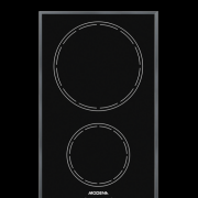 Bi 1321 Magne Modena Induction Hob / 2 Cooking Zones 30 Cm / 2 Induction Plates / 2 Tungku Kompor In