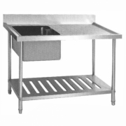 SST-1585 STAINLESS STEEL SINK TABLE / MEJA CUCI PIRING STAINLESS
