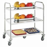 ST-022 STAINLESS STEEL TROLLEY / TROLI STAINLESS STEEL SERBAGUNA