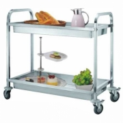 CT-023 STAINLESS STEEL TROLLEY / TROLI STAINLESS STEEL SERBAGUNA