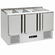 SC-04-3D SS UNDER COUNTER CHILLER FOR SALADS AND PIZZA ATAU MESIN PENDINGIN SALAD DAN PIZZA