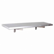 WSF-120 STAINLESS STEEL SOLID WALL SHELF FOLDABLE / RAK DINDING SOLID DAPAT DILIPAT