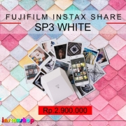 FUJIFILM Instax Share SP3 SP-3 Printer Instax Square White