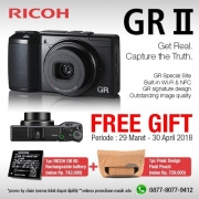 Ricoh GR II BLACK edition