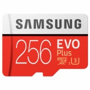 Samsung Micro SDXC Evo Plus 100MBs 256GB Class10 With Adapter Original