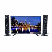POLYTRON TV LED 24 INCH TYPE 24T8511+ TOWER SPEAKER
