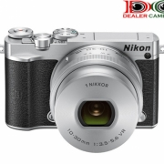 NIKON J5 KIT 10-30MM SILVER free SD SANDISK 16GB