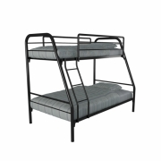 Anya-Living Ranjang Susun / Bunk Bed New Mars - Hitam