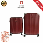 Swiss Military Premium Eksklusif Set Travel Bag - Red WIne