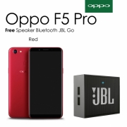 Oppo F5 Pro [6/64 GB] Red - Free Speaker Bluetooth JBL Go