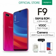 Oppo F9 4/64 GB - Sunrise Red