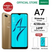 Oppo A7 4/64 GB - Gold & Blue