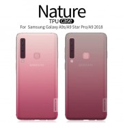 Samsung Galaxy A9 2018 Nillkin Nature TPU Softcase Original - Transpar