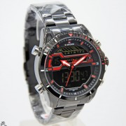 Naviforce NF9133MBD44P214HRZ - Jam Tangan Original Pria Analog-Digital