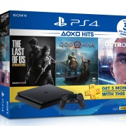 Sony Playstation 4 Free 3 Games