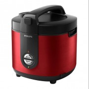 PHILIPS Rice Cooker Stainless PRO CERAMIC + HD3132