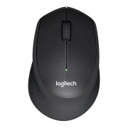 Logitech M331 Black Wireless Silent Plus