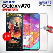 Samsung Galaxy A70 [6GB/128GB] Free Tempered Glass - Garansi Resmi