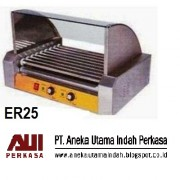 GRL-ER25 Hot Dog Baker - Mesin Panggang Sosis - Pemanggang Hot Dog