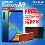 Samsung Galaxy A9 [6GB/128GB] Free Nakamichi Speaker Wireless
