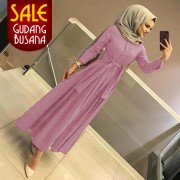Long Dress Wanita – Maxi – Aahana /105| MAXI ARETHA DUSTY