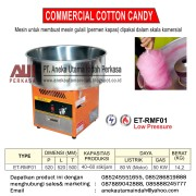 ET-RMF01 Cotton Candy Machine (Mesin Pembuat Gula Kapas/mesin Gulali)