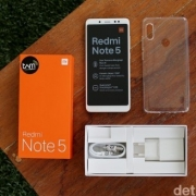 XIAOMI REDMI NOTE 5 4/64 Garansi TAM 1Th (Gold, Black, Blue)
