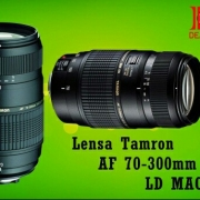 Lensa Tamron 70-300mm For Canon