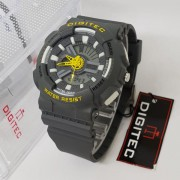 Digitec Dual Time wanita Rubber Strap