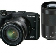 Canon M3 kit 18-55mm+55-200mm