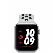 Apple Watch Series 3 Nike+ 42mm GPS Only Silver Aluminum Case with Pure Platinum/Black Nike Sport Ba