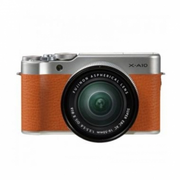 Fujifilm X-A10 Brown kit 16-50mm XA10