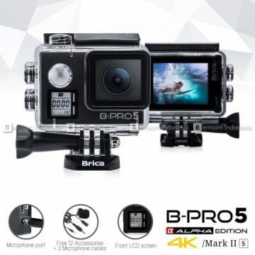 Brica B-Pro5 Alpha Edition Mark2s 4K Black +Paket Complit Brica BPRO