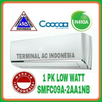 AC COOCAA 1 PK ( SMFC09A-2AA1NB ) LOW WATT R410A INDONESIA